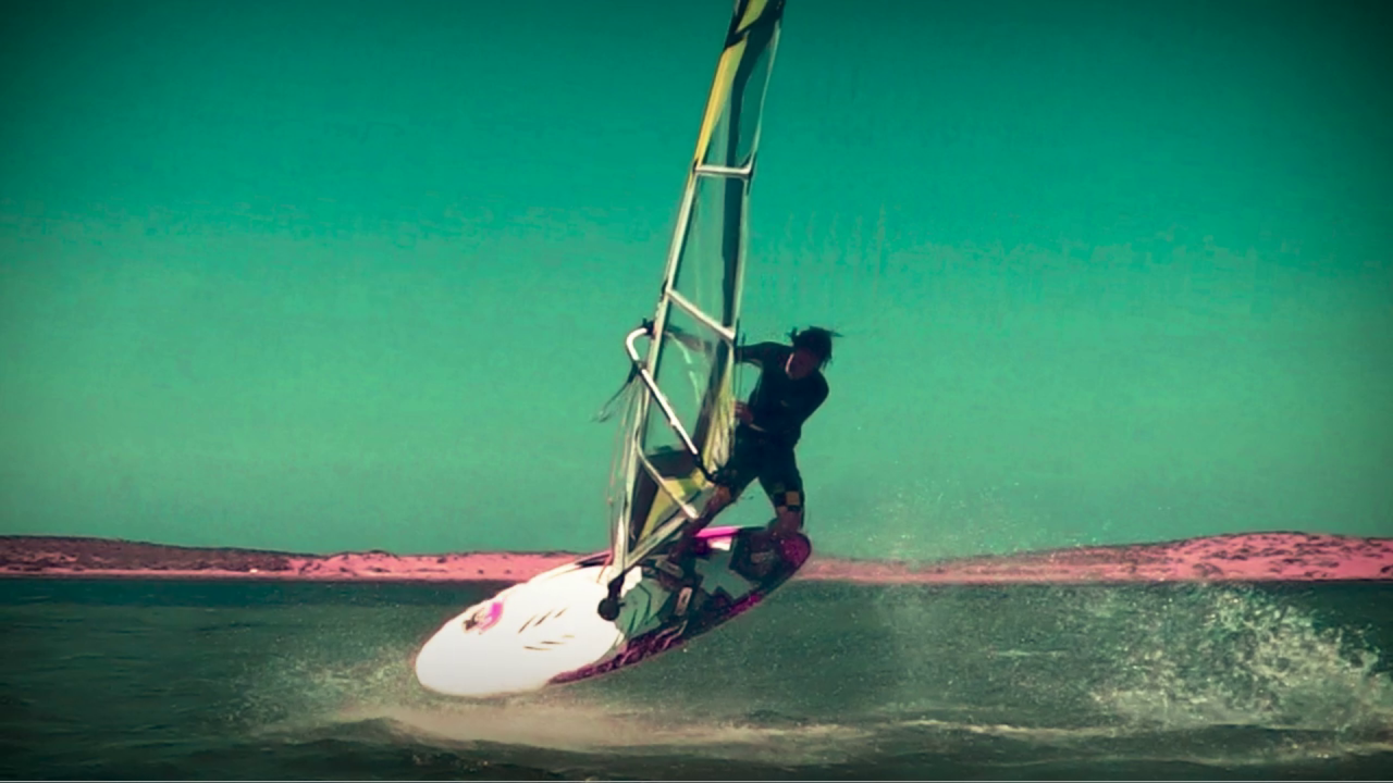 Windsurfing w Slow Motion